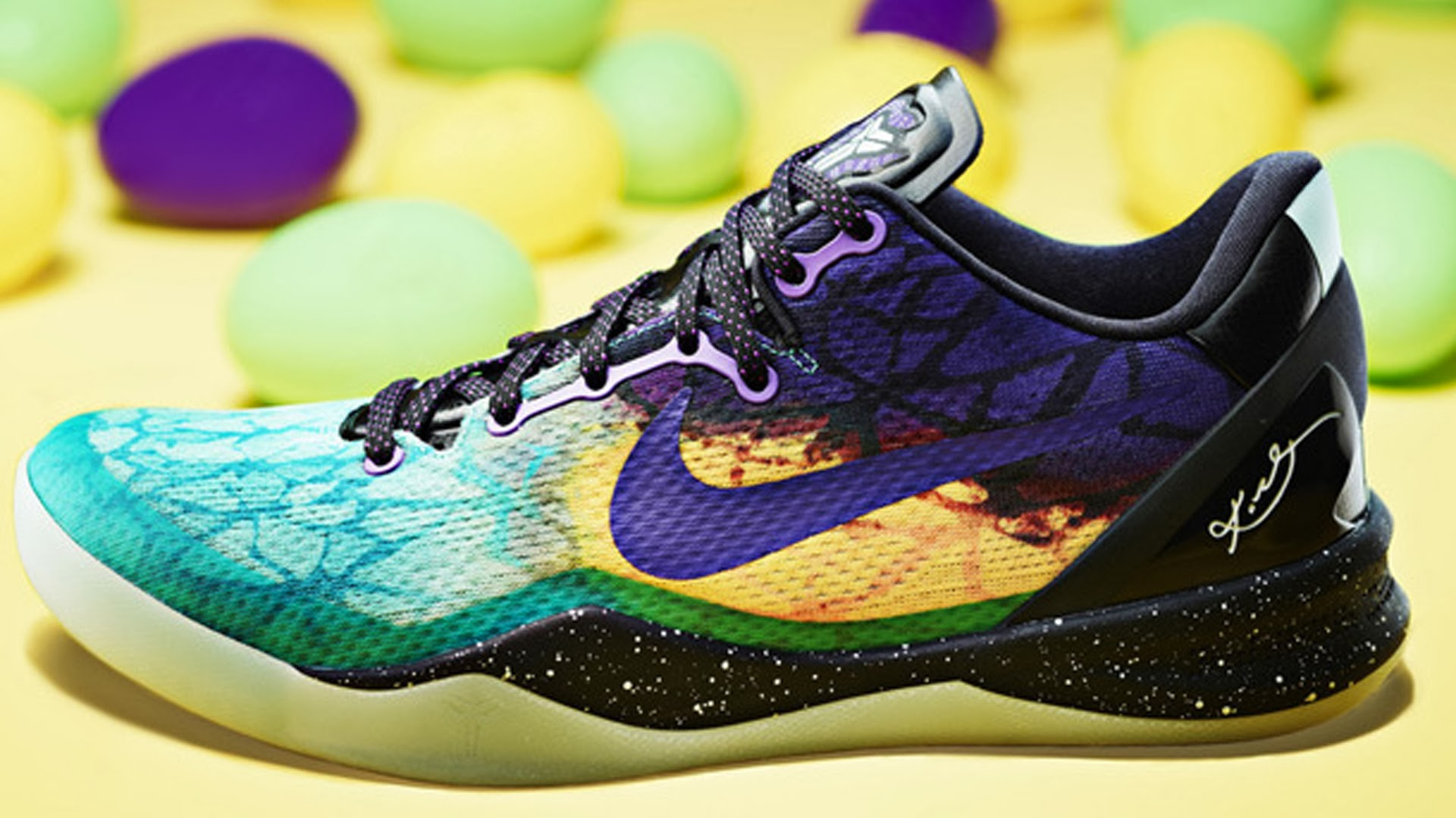 Nike Kobe Bryant 8 Easter Shoes Wallpaper HiresMOVIEWALLcom 1920x1080