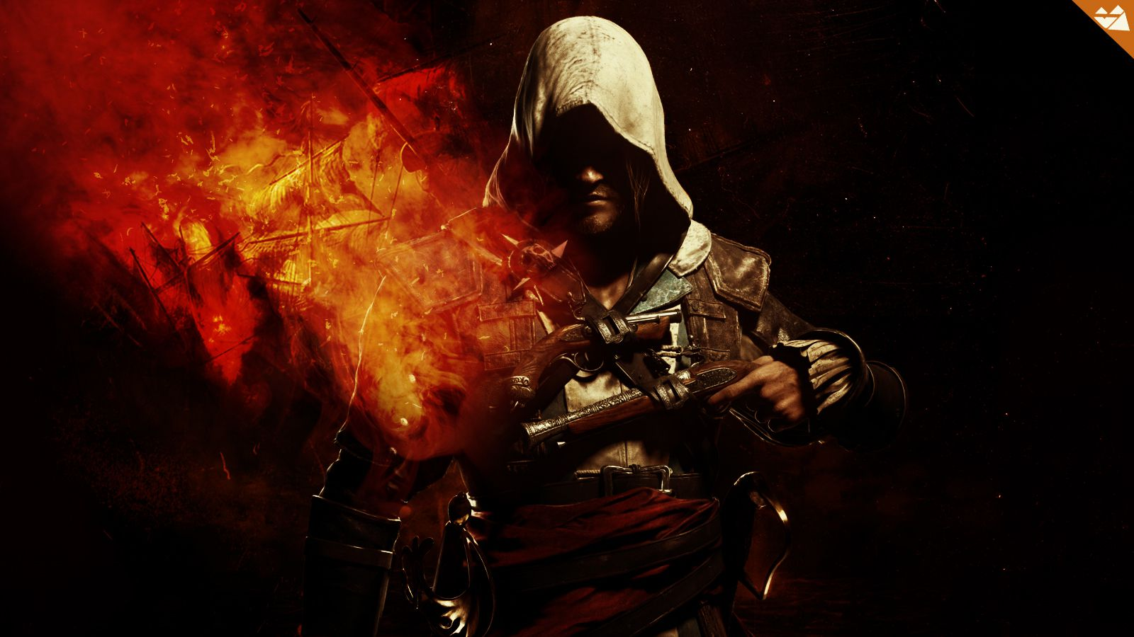 Download Assassins Creed Black Flag 4 Game HD Wallpaper Search more 1600x900