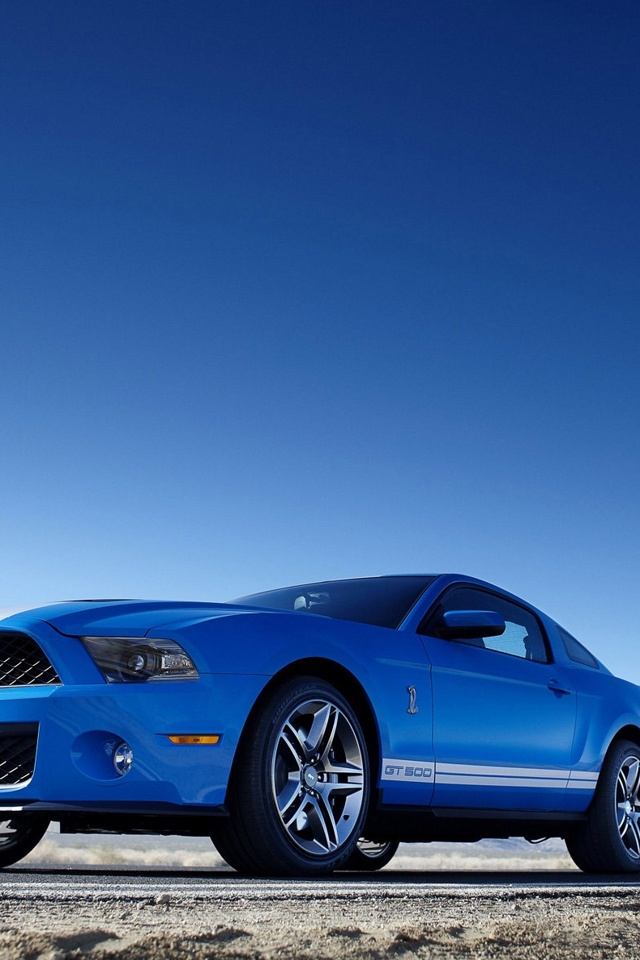 iPhone background Mustang from category cars and auto wallpapers for 640x960