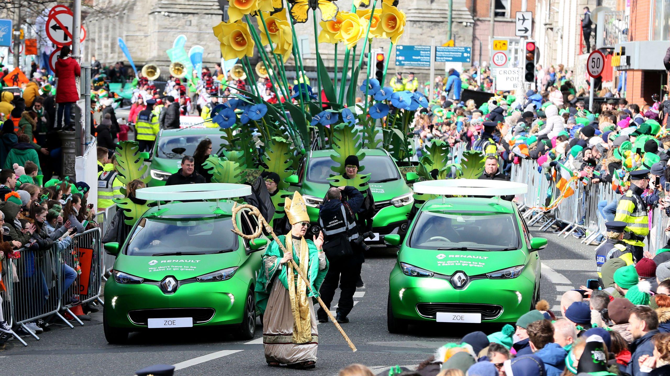 Ireland cancels St Patricks Day parades over coronavirus fears 2560x1440