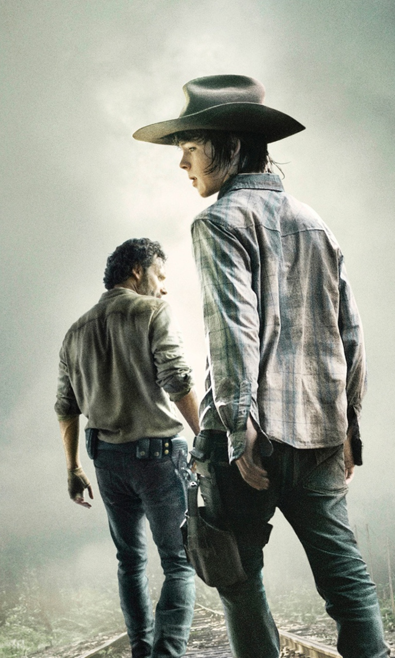 The Walking Dead 2014 Mobile Wallpaper for Nokia Lumia 920   Download 768x1280