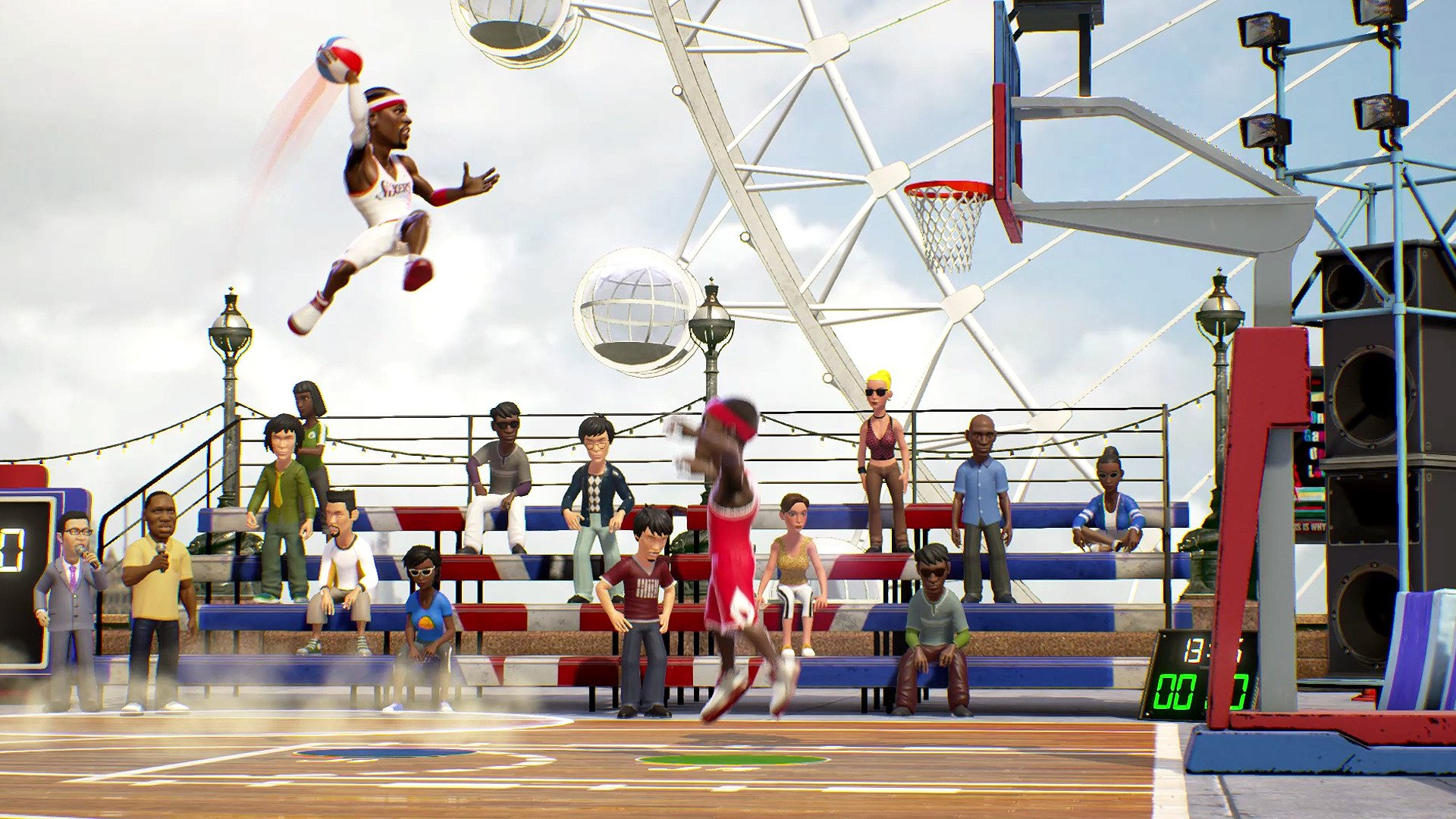 2 NBA Playgrounds HD Wallpapers Background Images 1920x1080