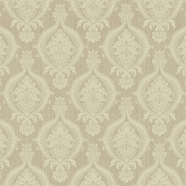 Brown and Beige Weave Damask Wallpaper   Wall Sticker Outlet 600x600