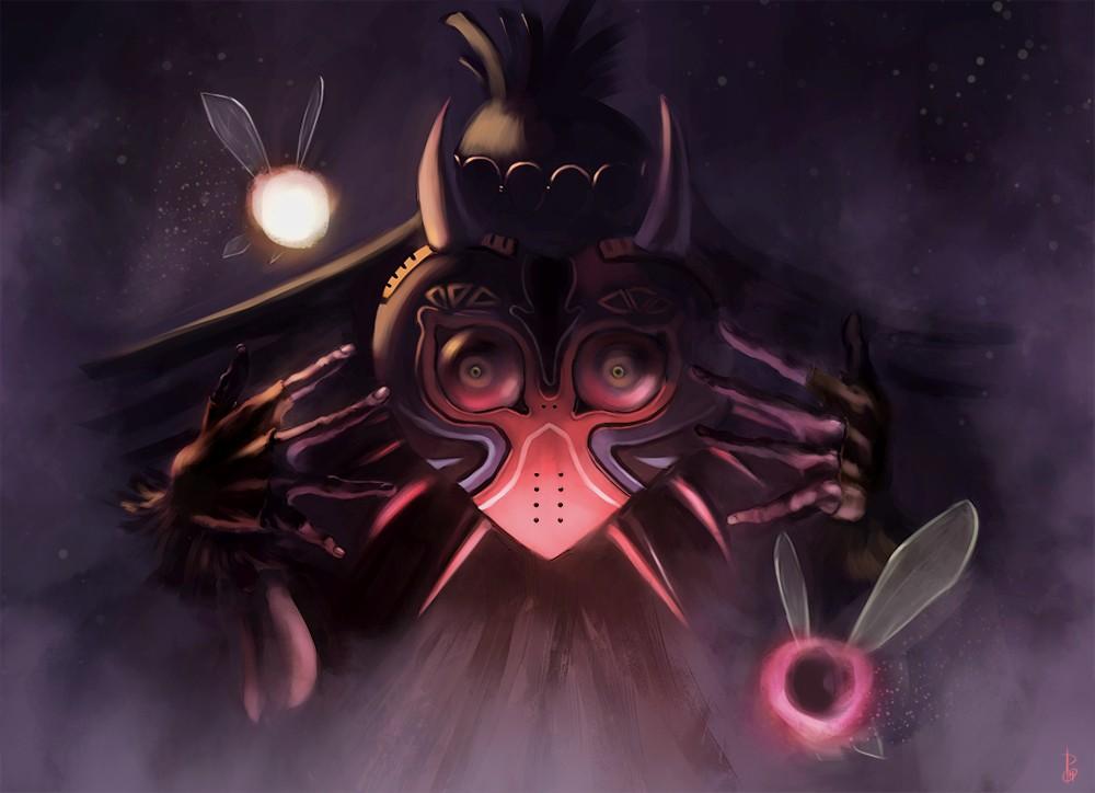 Majoras Mask Skull Kid Wallpaper