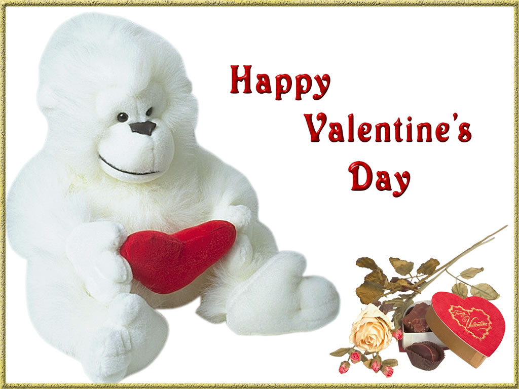 Funny Valentines Day Wallpaper 1024x768