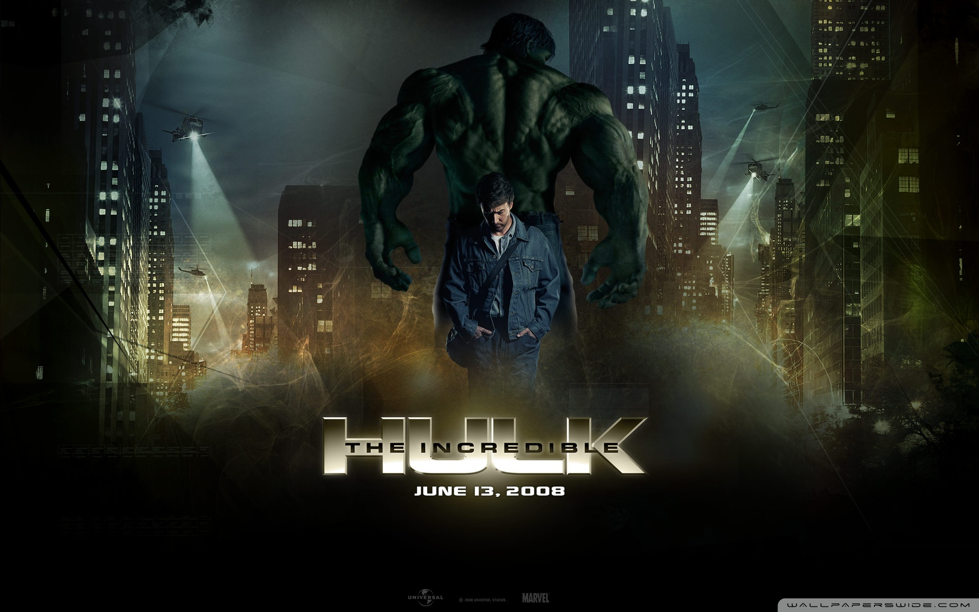 The Incredible Hulk 2 4K HD Desktop Wallpaper for 4K Ultra HD 1920x1200