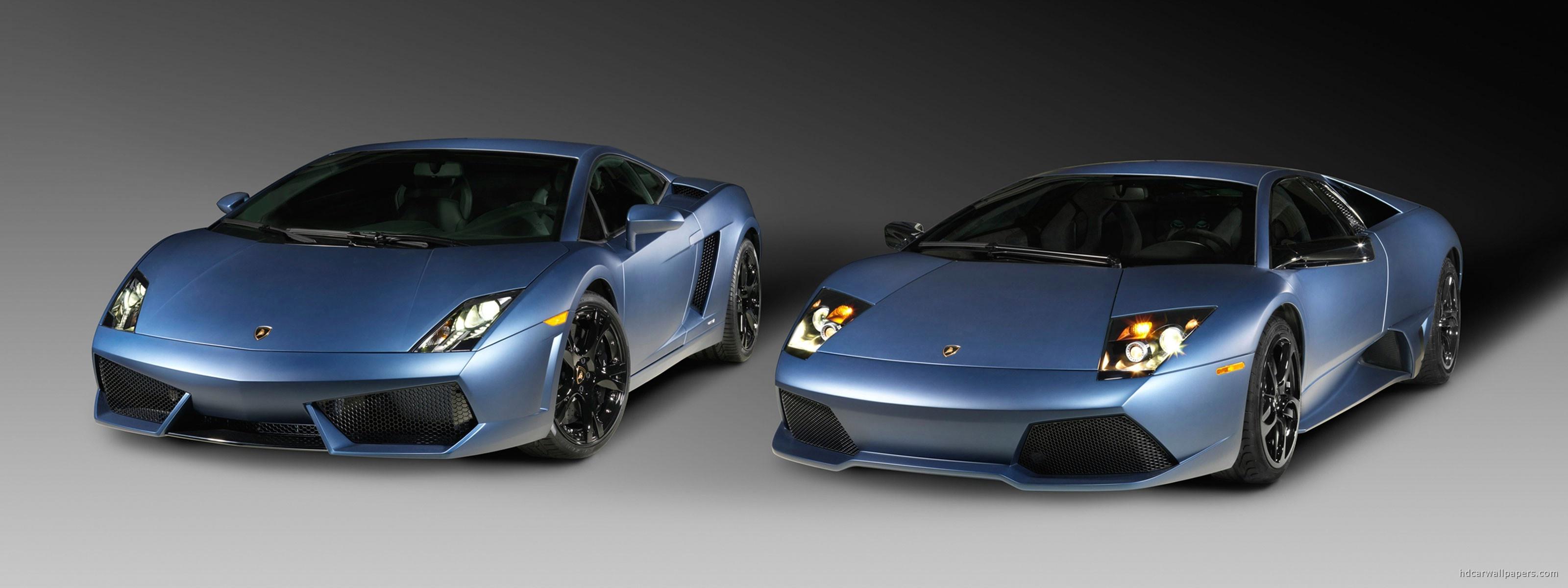 Lamborghini Gallardo Dual Monitor Wallpaper in 3200x1200 Resolution 3200x1200