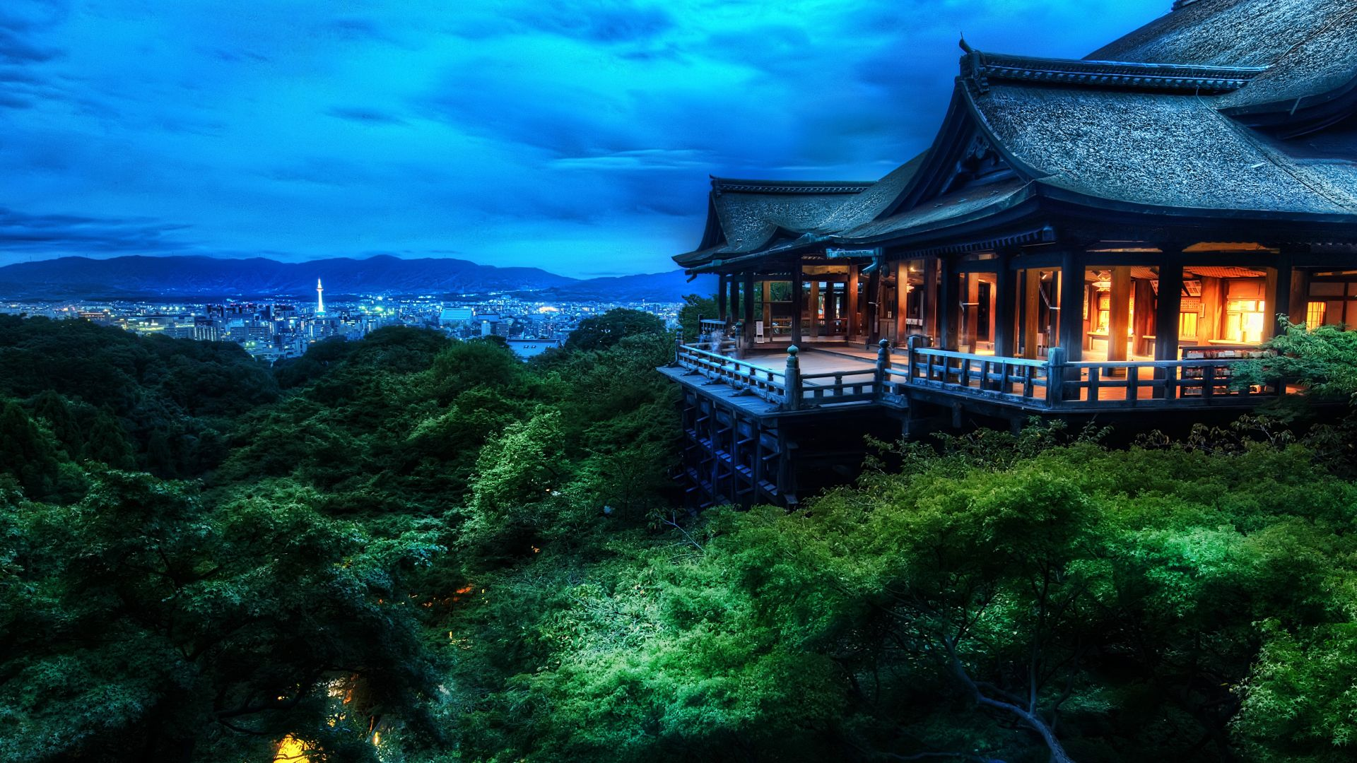 Kiyomizu Dera Kyoto Building HD Wallpaper 187 FullHDWpp 1920x1080