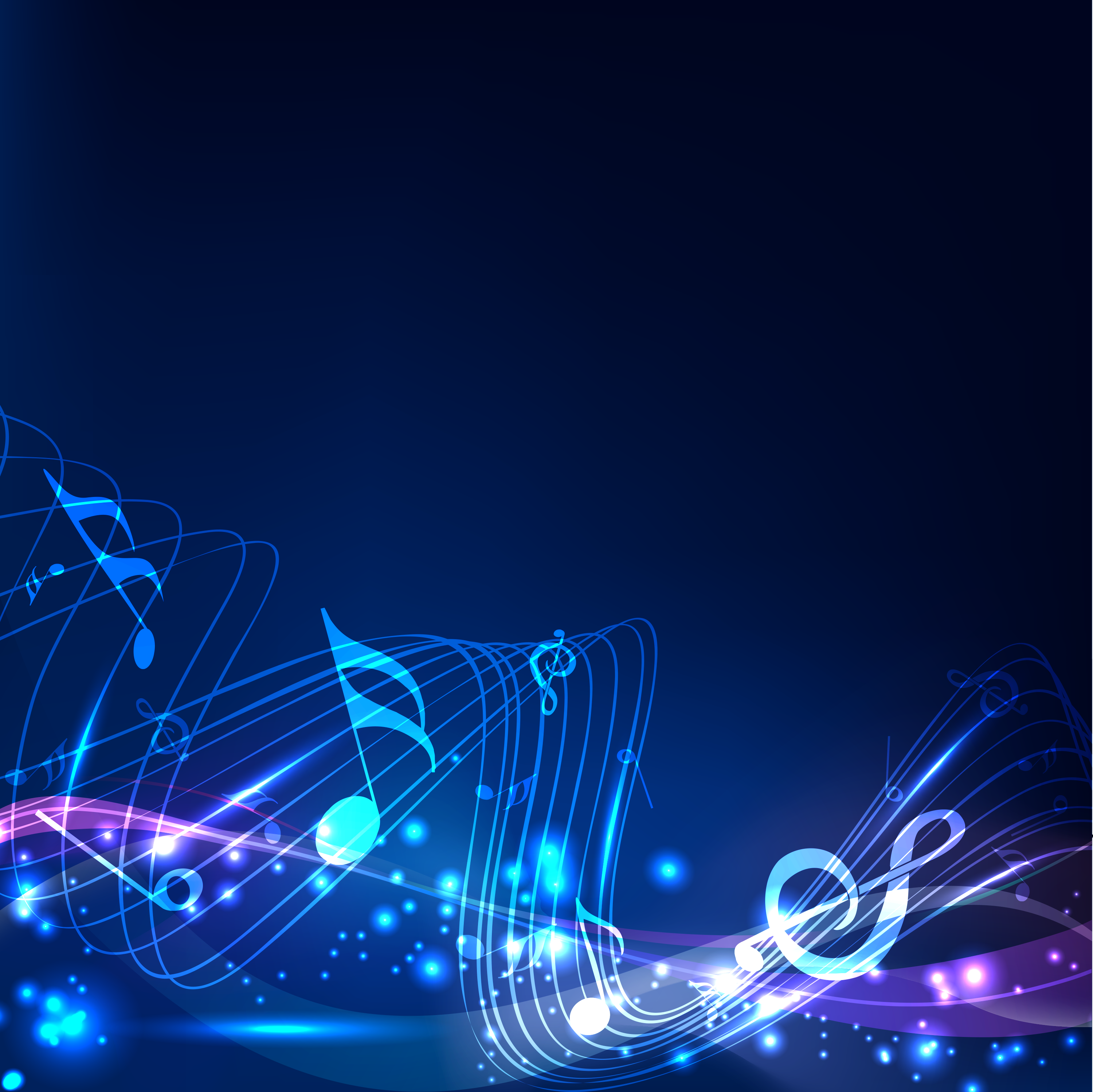 Musical backgrounds wallpapersafari abstract music notes related keywords suggestions voltagebd Images