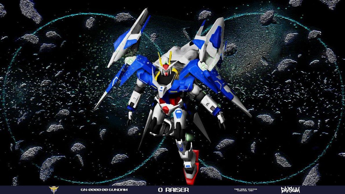 Gundam 00 Raiser Wallpaper by davislim 1191x670