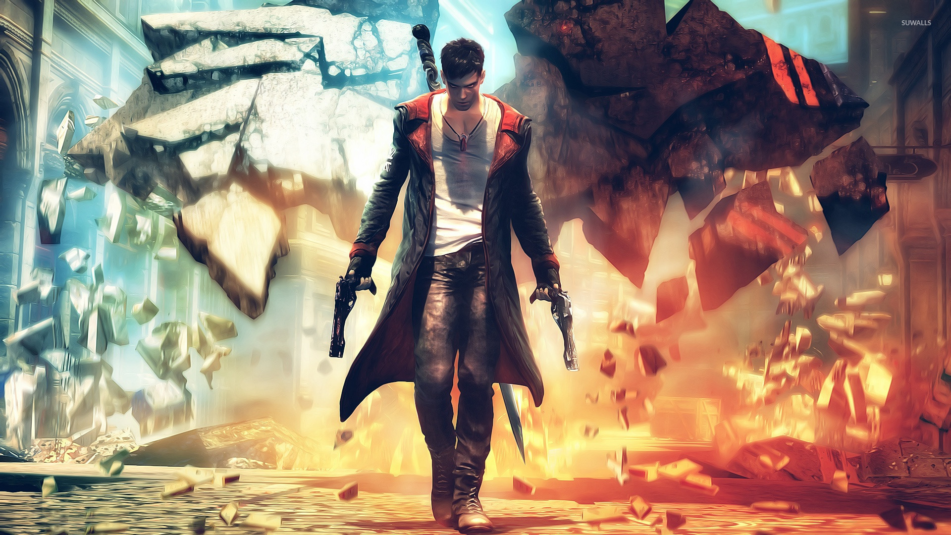 Dante   Devil May Cry 5 wallpaper   Game wallpapers   15652 1680x1050