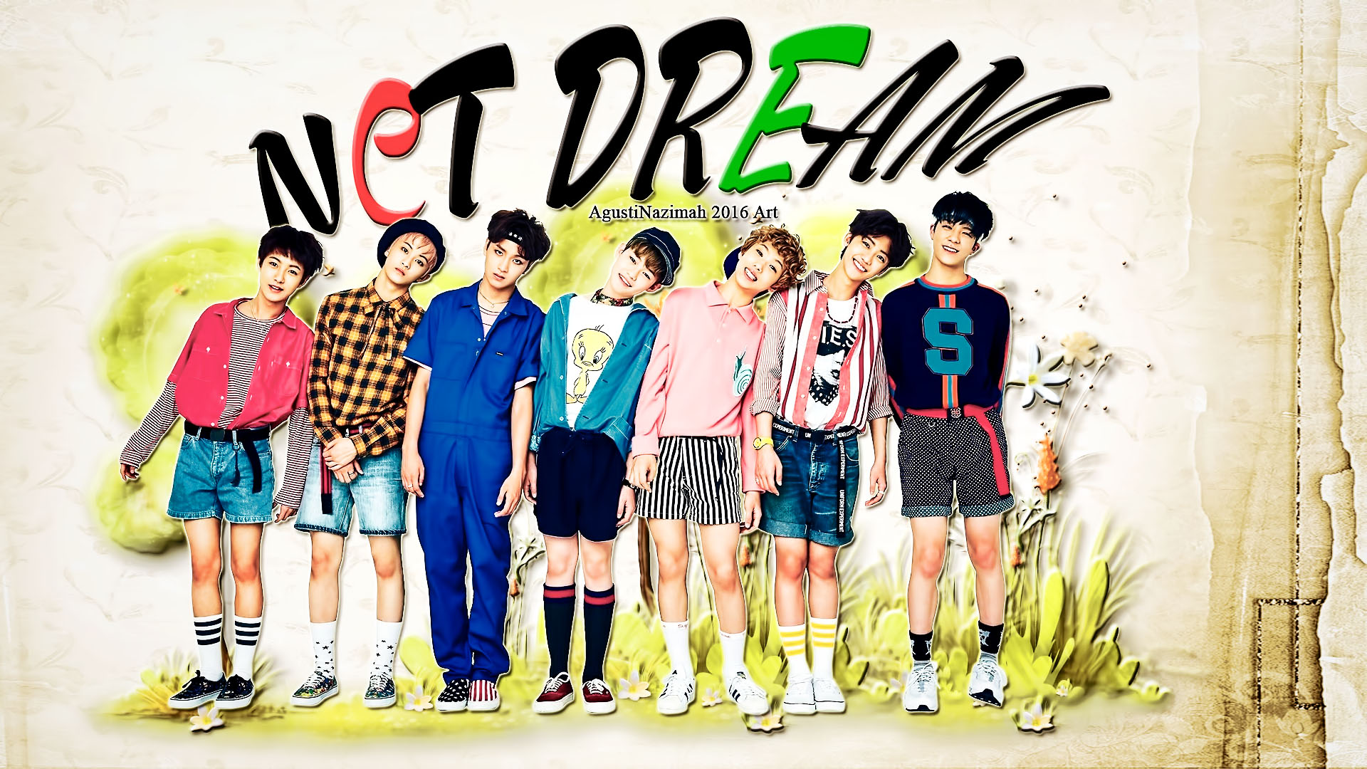 [Artwork] NCT Dream For Chewing Gum 1920x1080