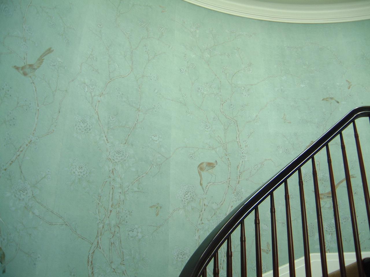 de Gournay Installations Artisthands Specialist Paperhang 1280x960