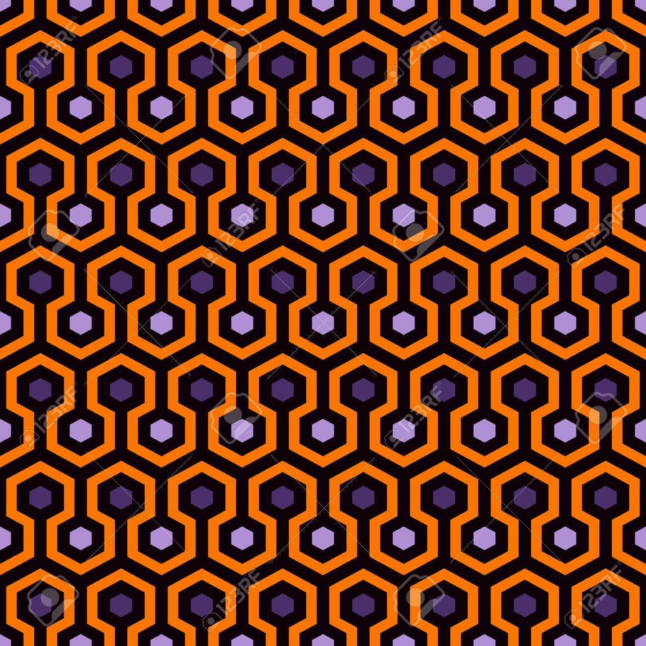 Honeycomb Abstract Background Repeated Hexagon Tiles Mosaic 1300x1300