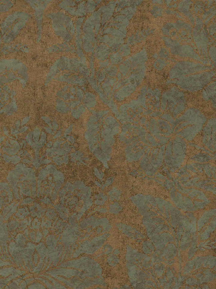 Copper Bohemian Damask Wallpaper   Textures Wallpaper3056sqft 720x960