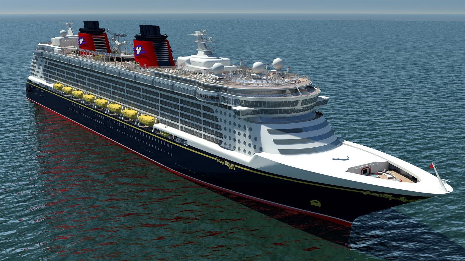 The Magic Wonder Dream and Fantasy of the Disney Cruise Line 1600x900
