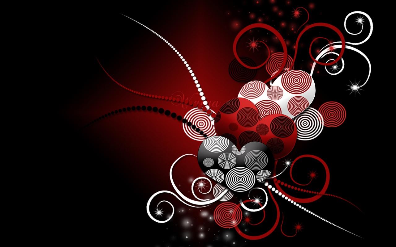 Sweet Valentine Wallpaper Heart Valentine Wallpaper Desktop 1280x800