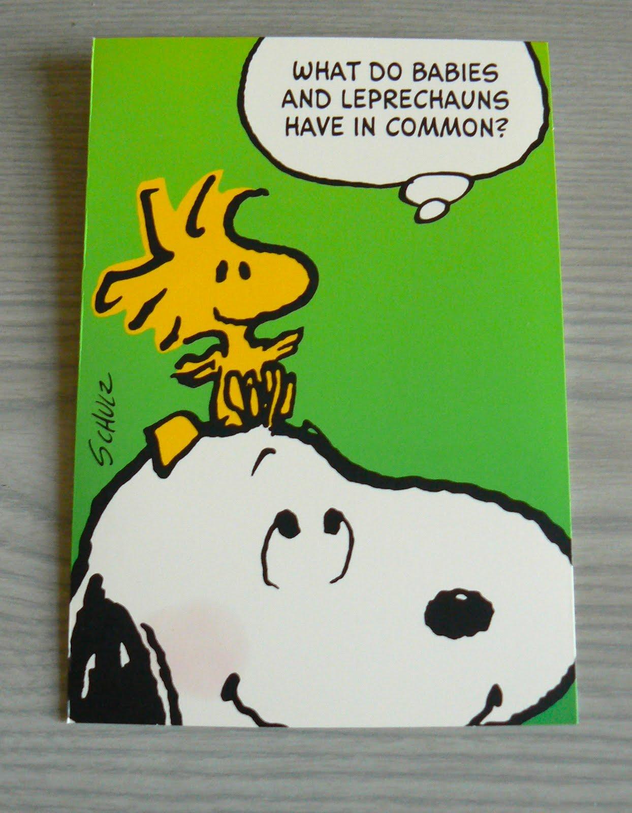 Peanuts St Patricks Day Wallpaper Peanuts to st patrick 1244x1600