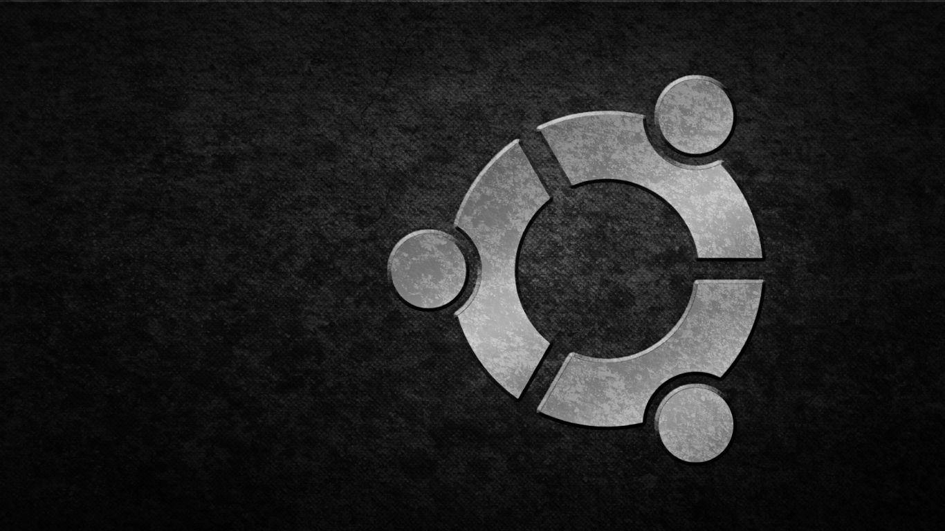 Ubuntu Dark Wallpapers 87 1366x768
