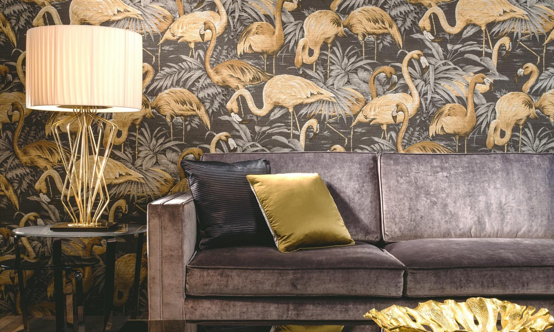 Avalon wallpaper inspired by natural patterns and materials 1100x660