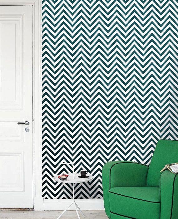 Removable self adhesive modern vinyl Wallpaper wall sticker   Thin Ch 570x702