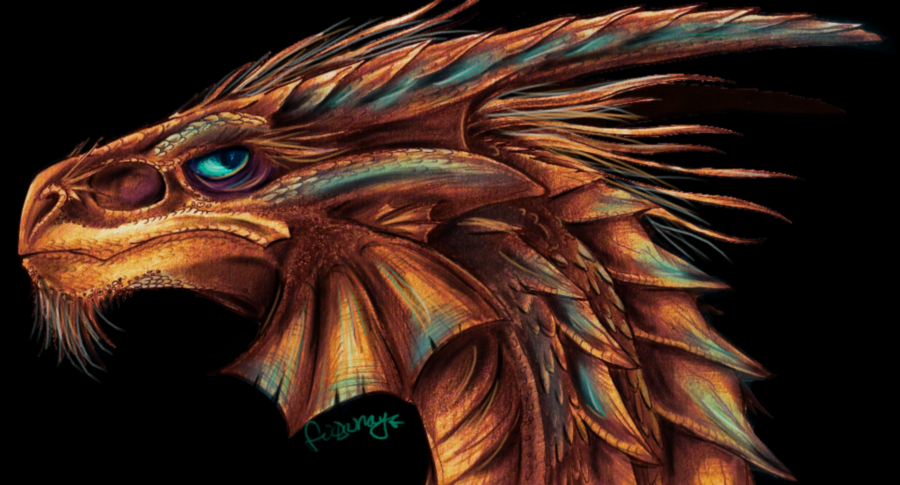Copper Dragon 16 Background Wallpaper   Hivewallpapercom 900x485