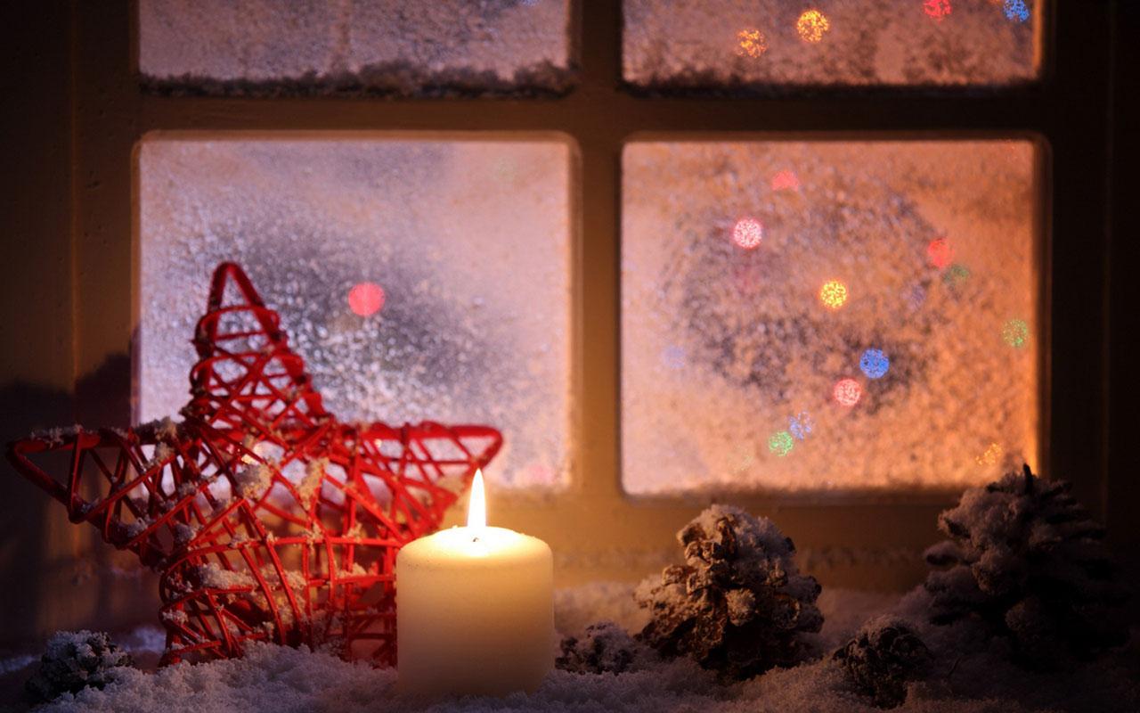 Free Download Christmas Candles Hd Wallpaper 10 Holiday
