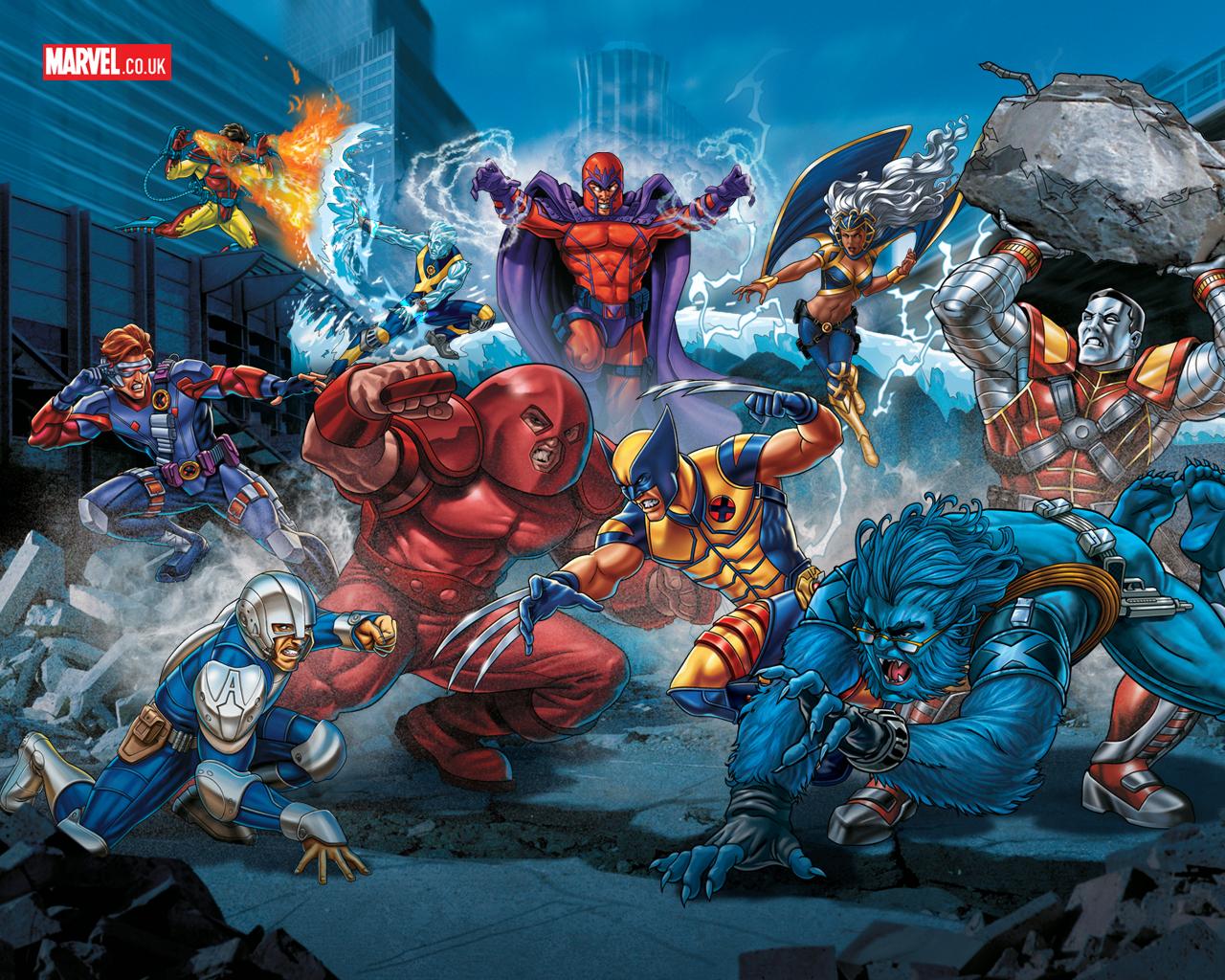 [48+] Marvel and DC Comics Wallpapers on WallpaperSafari