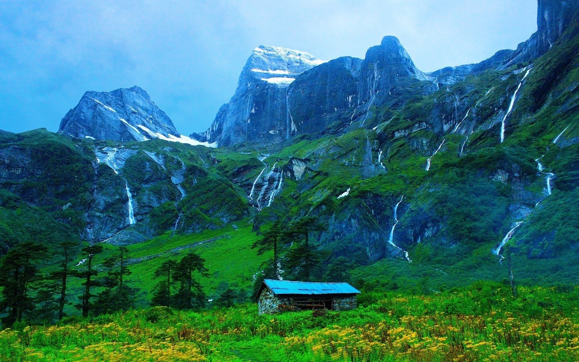 Cabin in the Mountains wallpapers and images   wallpapers pictures 1920x1200