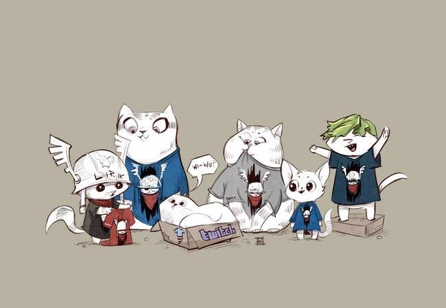 Lirik Cat T Shirt Wallpaper By ARTillery84 Streamer News 650x450