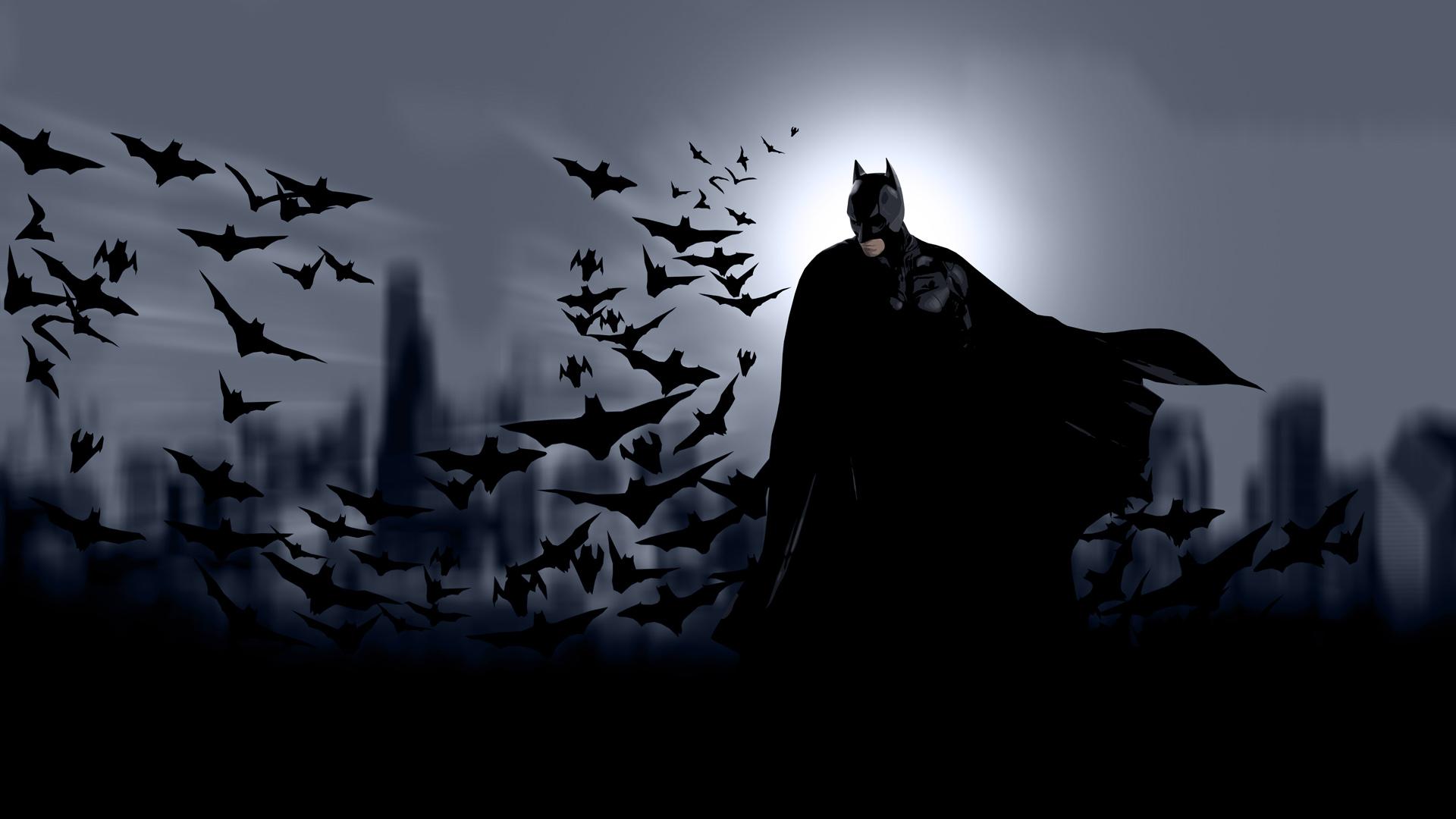 Batman Cool At The Night Wallpaper WallpaperLepi 1920x1080