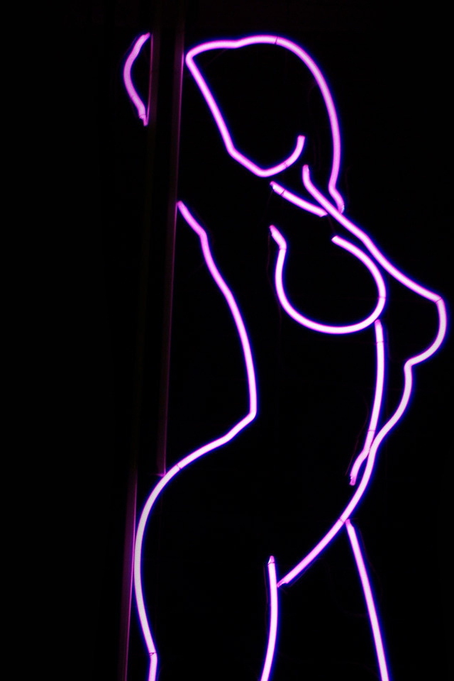 sexy neon pink iPhone 4 Wallpaper Cute Girly Backgrounds Photos 640x960