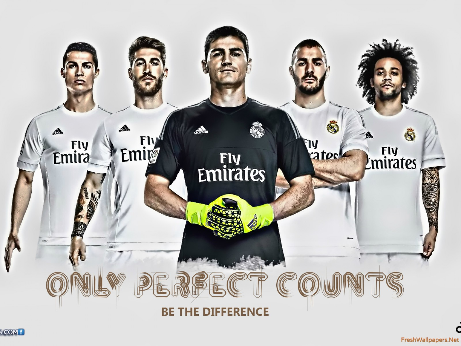 Real Madrid CF 2015 2016 HD wallpapers Freshwallpapers 1600x1200