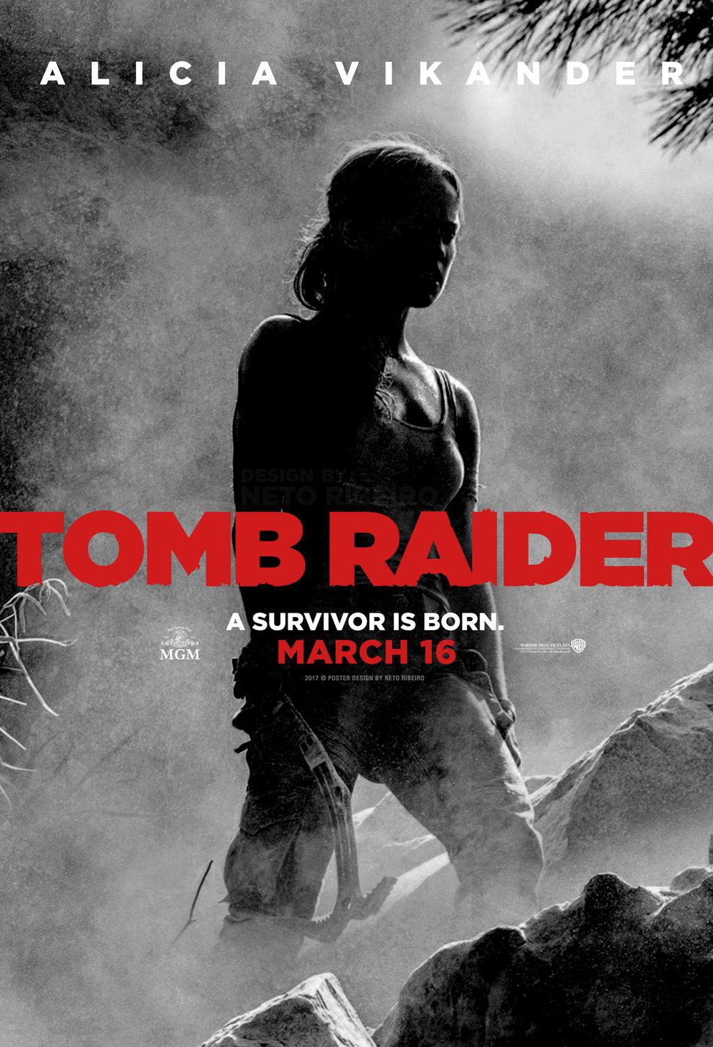 tomb raider movie poster hd