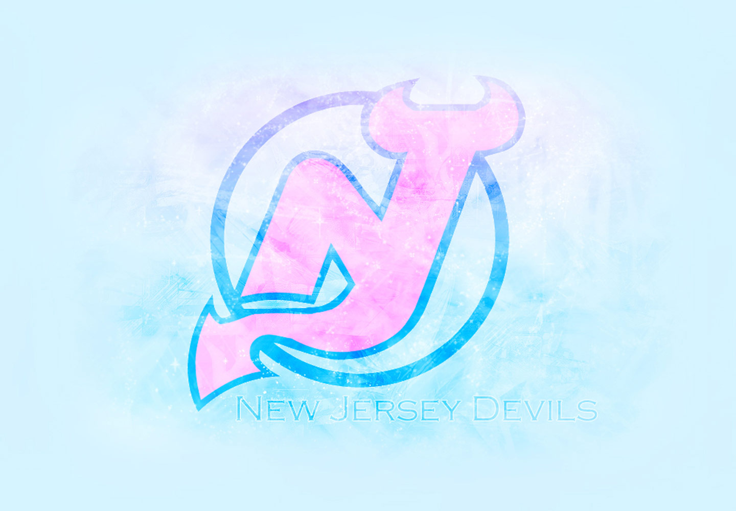 NHL Wallpapers   New Jersey Devils Logo wallpaper 1440x1000