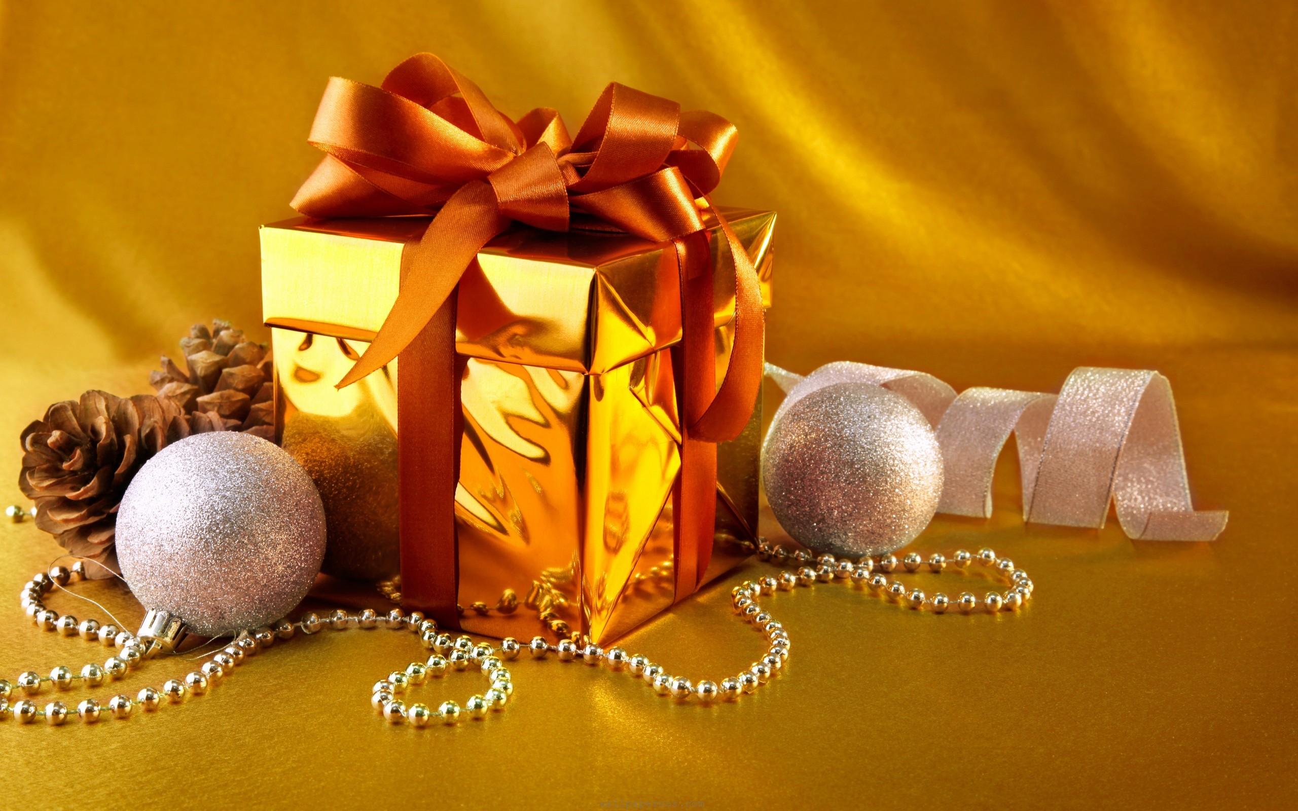 Gold Box Gift wallpaper   1019283 2560x1600