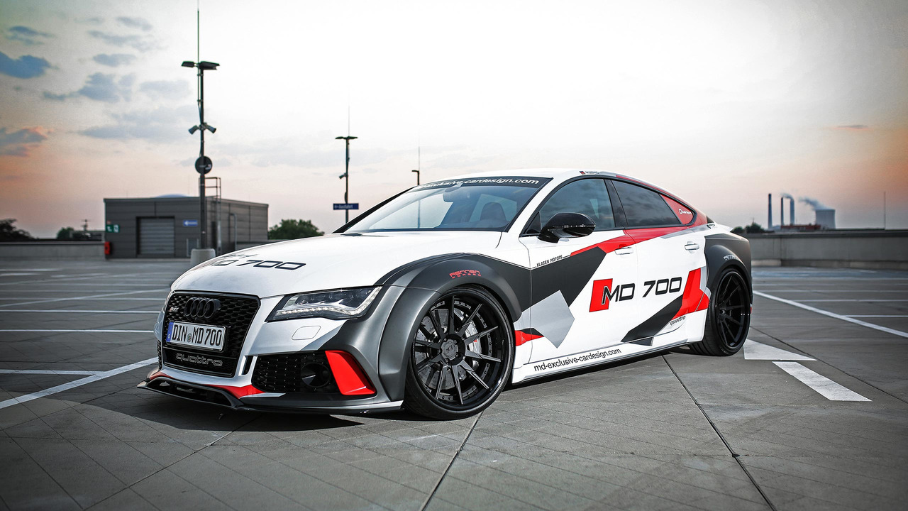 Audi S7 by M and D Cardesign Motor1com Photos 1280x720