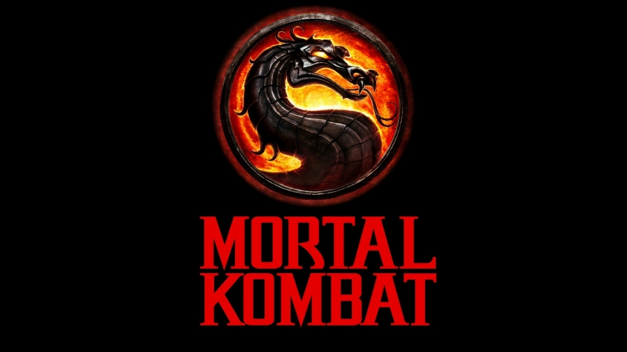 Mortal Kombat Logo Red Letters   Wallpaper   ImgPrix 896x504