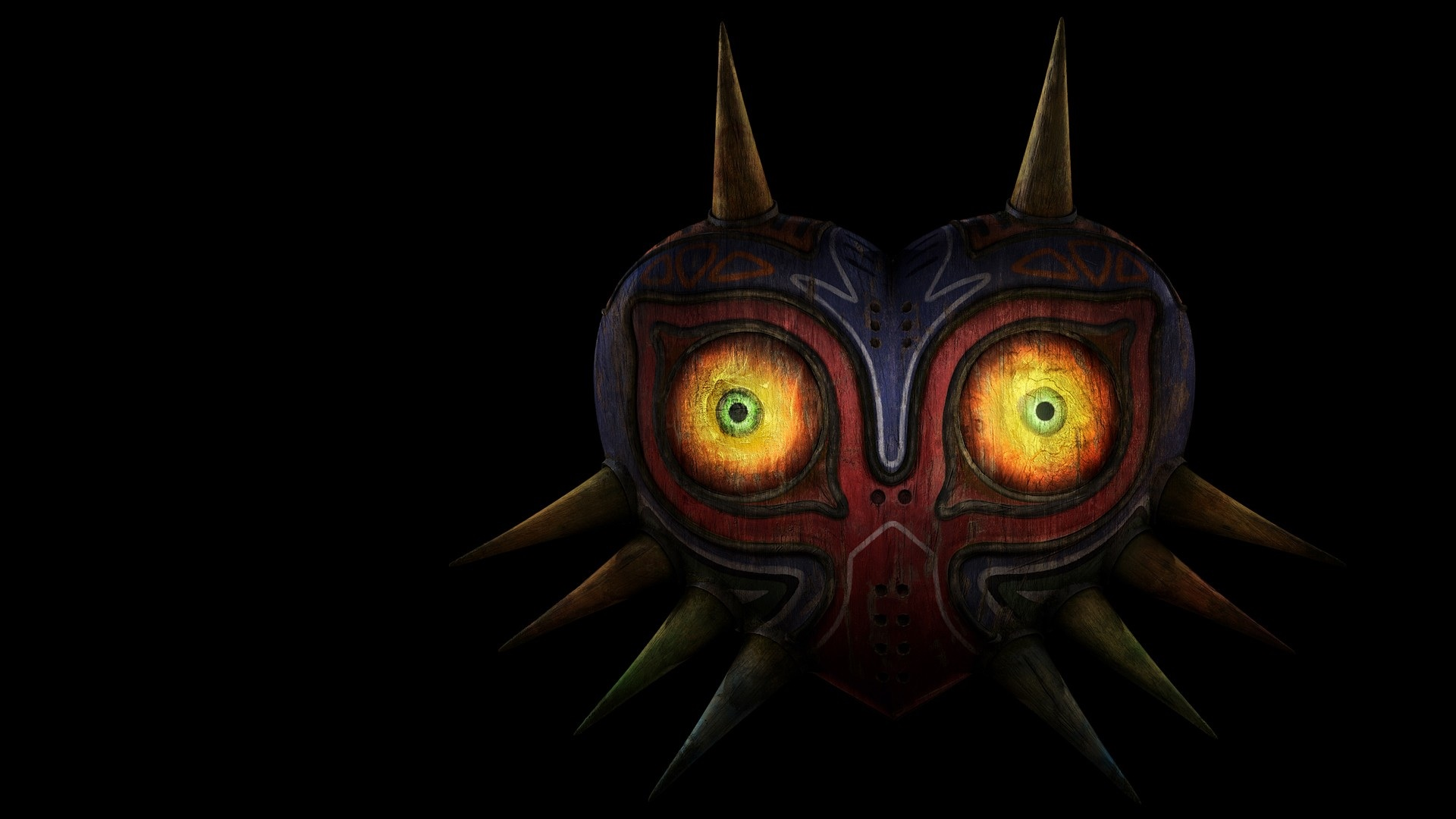 1920x1080 The Legend of Zelda Mask desktop PC and Mac wallpaper 1920x1080