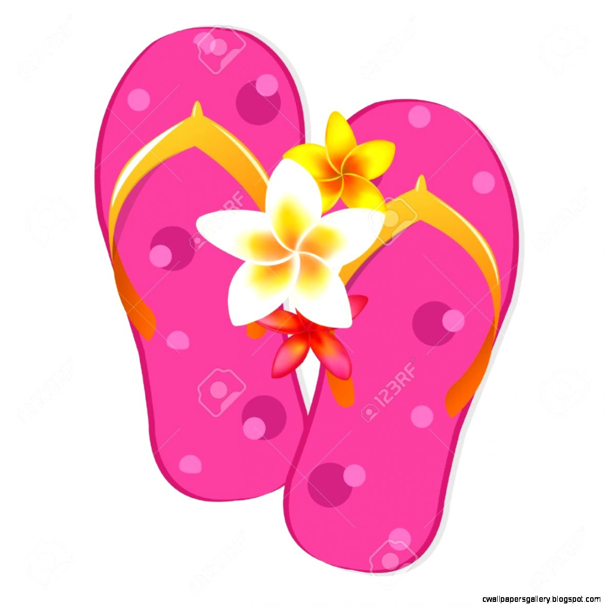 Flip Flop Stock Vector Illustration And Royalty Flip Flop Clipart 1183x1183