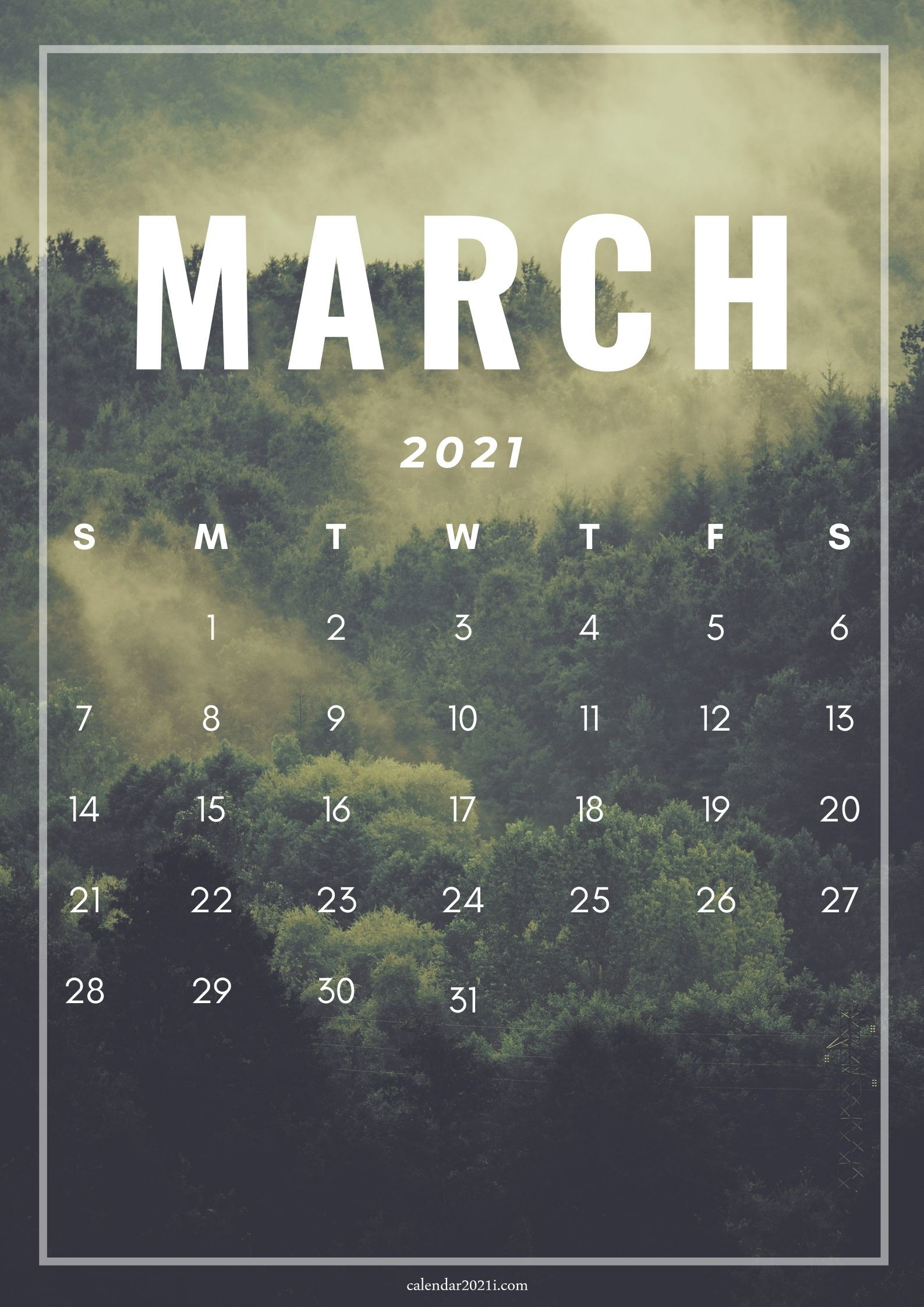iPhone March 2021 Calendar Wallpapers Download Calendar 2021 1587x2245
