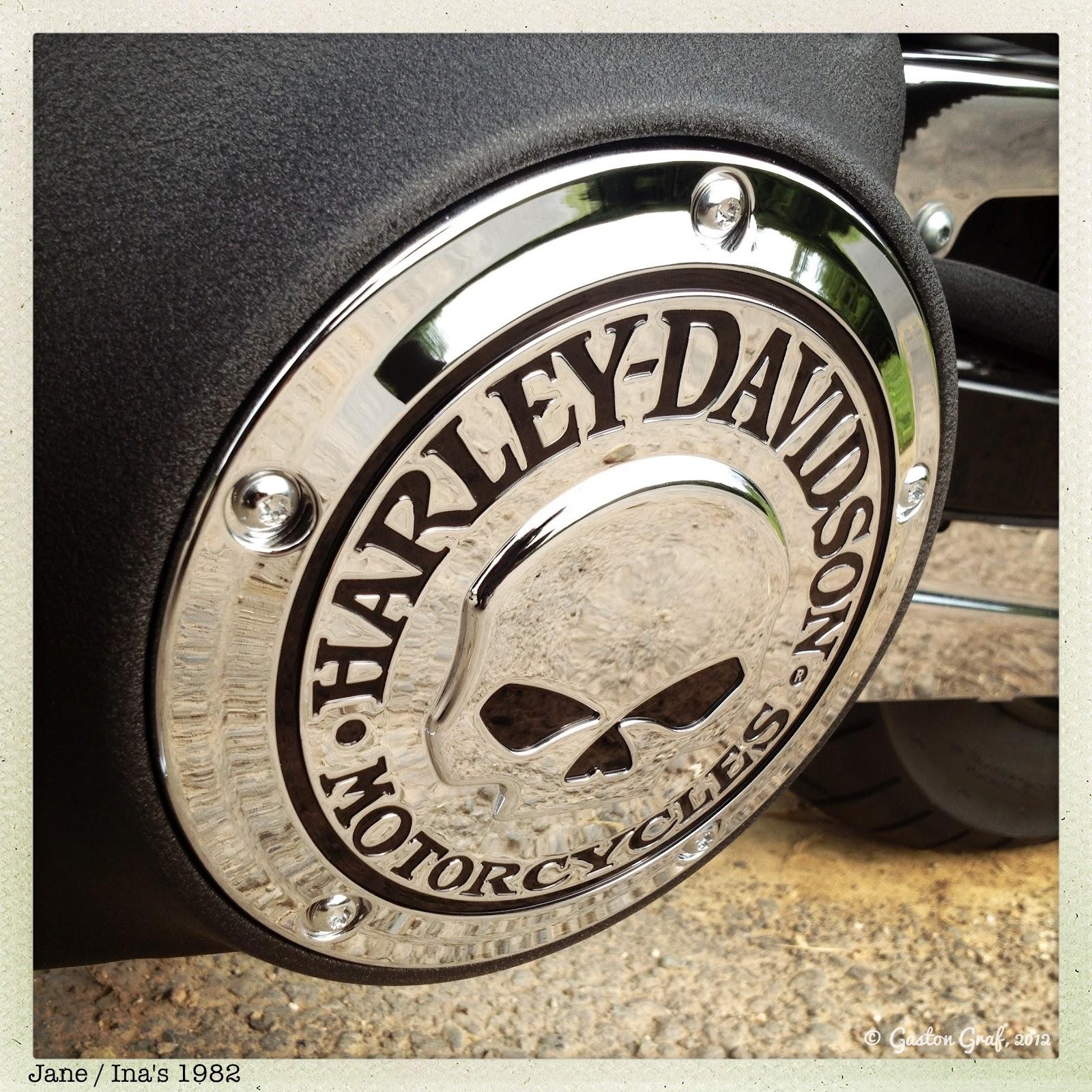 Harley Davidson Number One Skull Logo 1600x1600