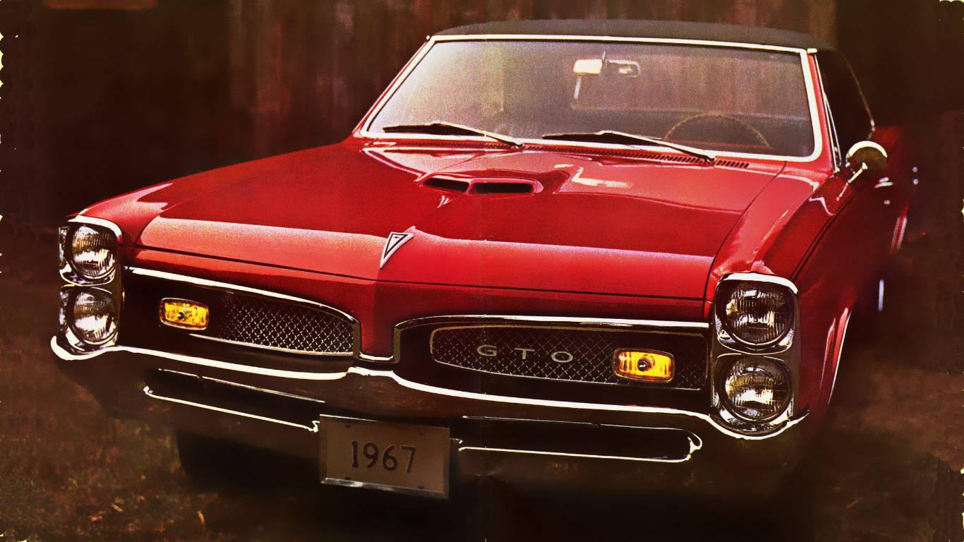 67 Pontiac GTO wallpaper   ForWallpapercom 1366x768