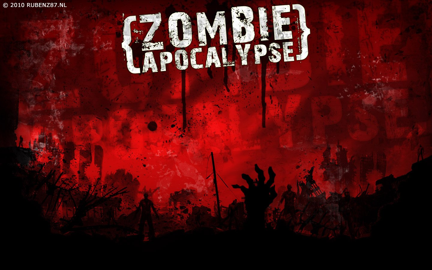Zombie Apocalypse HD Wallpapers Download Wallpapers in HD for 1440x900