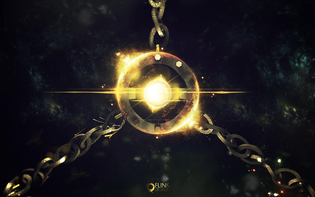 Space Orb Wallpaper by Flink Design on deviantART 1280x800