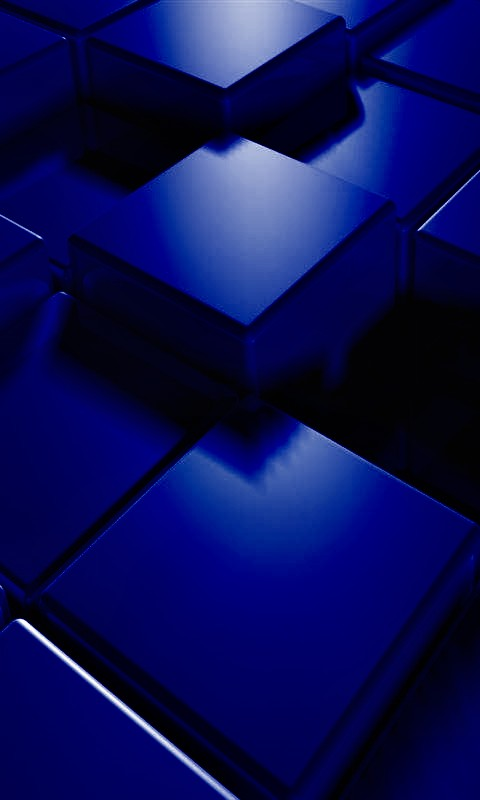 3d blue cubes mobile phone wallpapers 480x800 hd wallpaper pictures 480x800