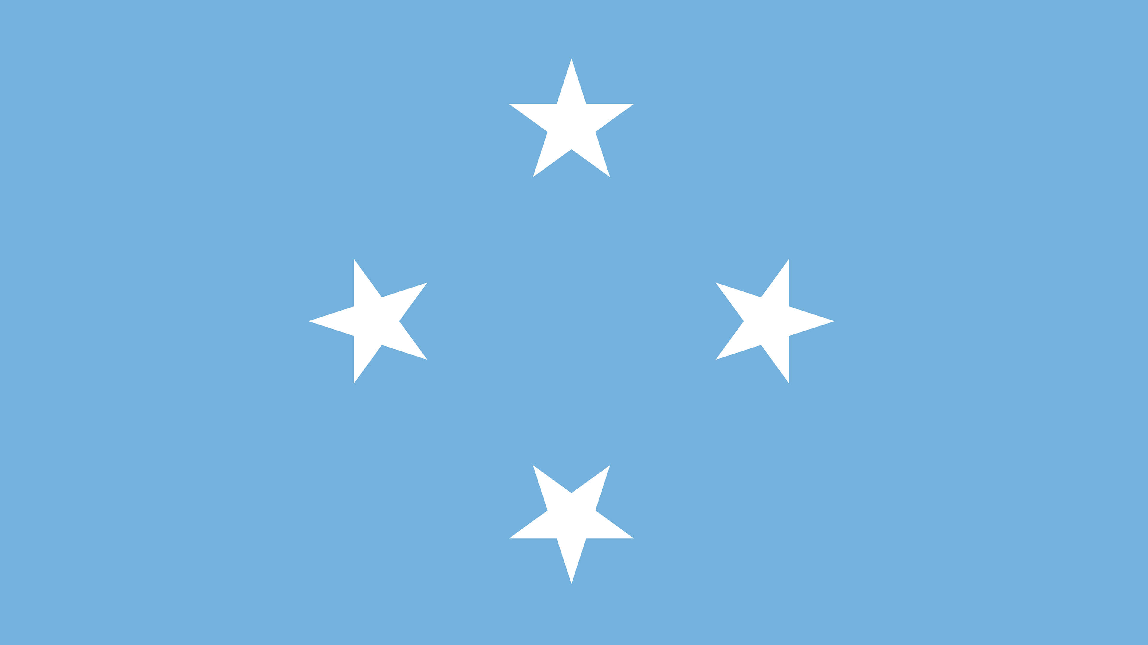 Federated States Of Micronesia Flag UHD 4K Wallpaper Pixelz 3840x2160