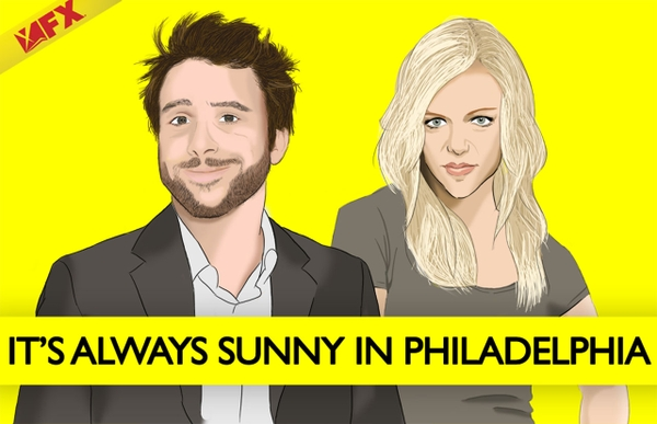 Its Always Sunny In Philadelphia,yellow background its always sunny in ...