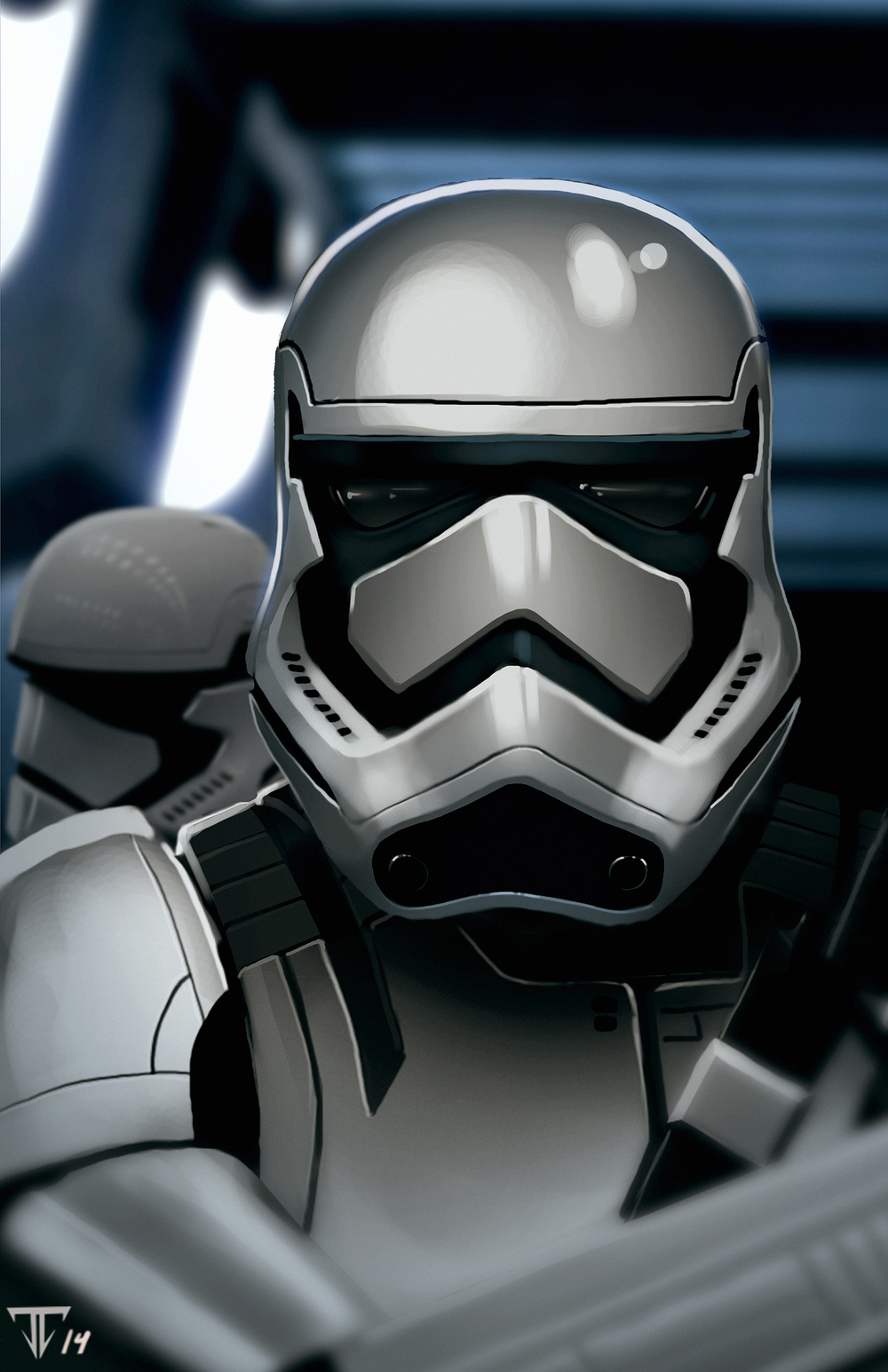 Star Wars 7 Stormtrooper Wallpaper Wallpapersafari