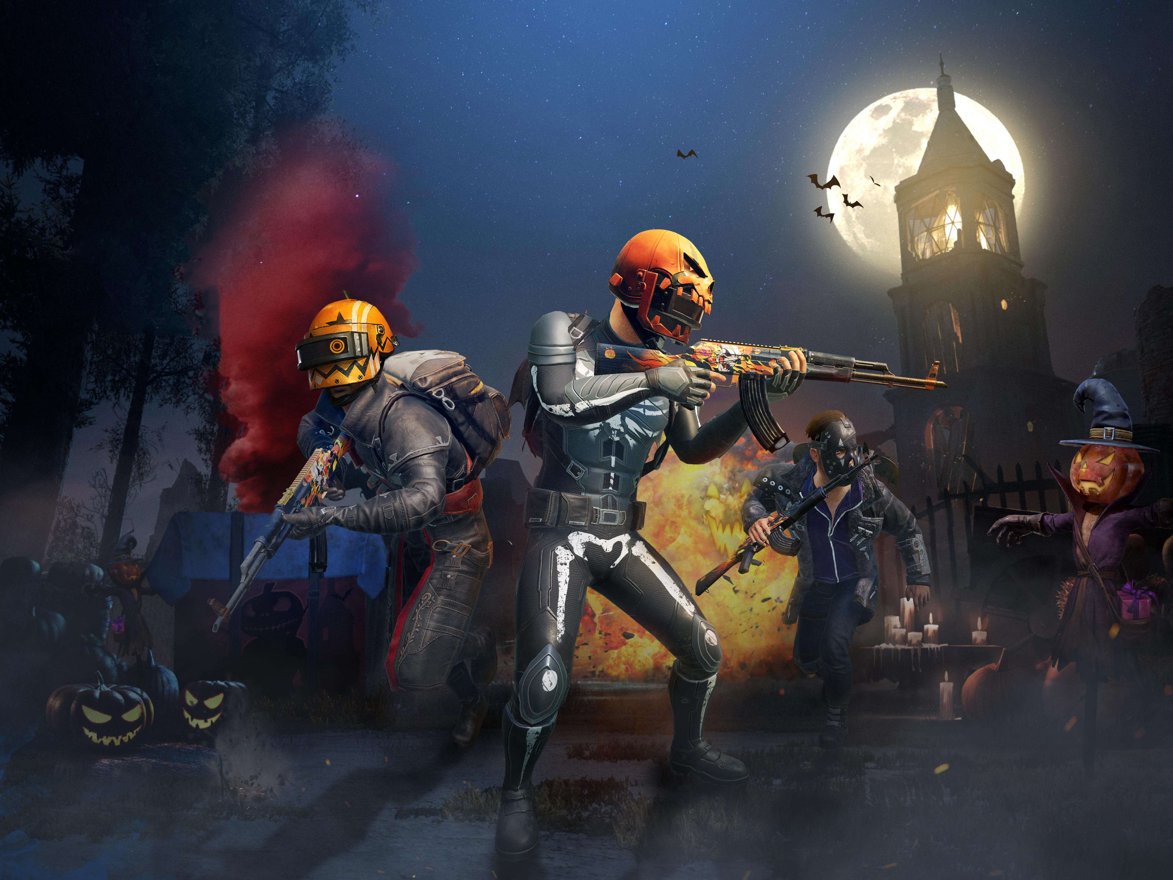 Pubg Halloween Update 4k HD Games 4k Wallpapers Images 3840x2880